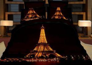 Povlečení EIFFEL IN NIGHT 3D francouzské povlečení, 1x 200×220 cm, 2x povlak 70×80 cm  MyBestHome