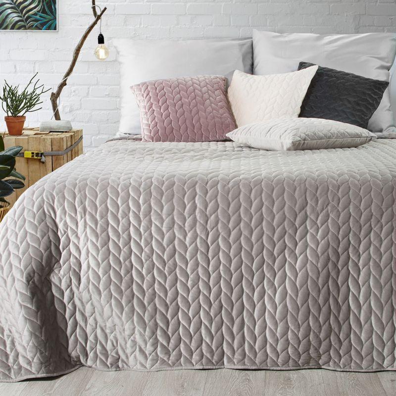Přehoz na postel EMILY 200×220 cm béžová Mybesthome