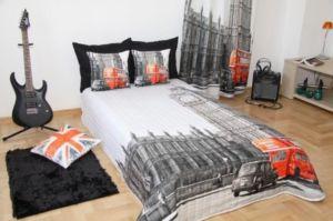 Přehoz na postel LONDON 155×200 cm Mybesthome