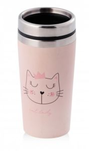 Termo hrnek CAT LADY 450 ml HOME & YOU