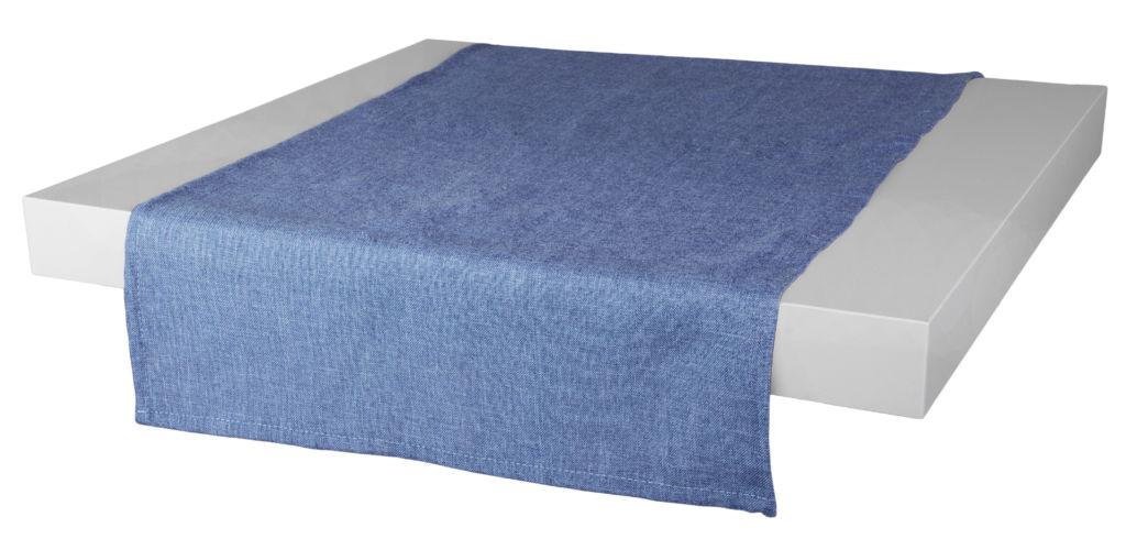 Ubrus – běhoun na stůl BASIC 40×120 cm, modrá, ESSEX