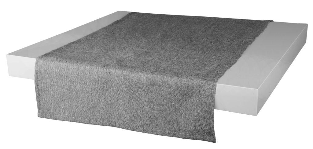 Ubrus – běhoun na stůl BASIC 40×120 cm, šedá, ESSEX