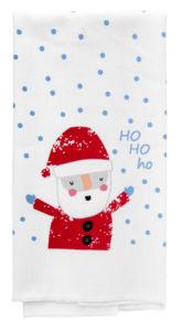 Utěrka FUNNY CHRISTMAS, mikrovlákno 38×63 cm HO HO HO, Essex