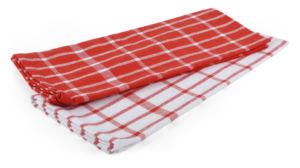Utěrka VIBRANT 100% bavlna, 2 kusy, červená, 45×65 cm Essex