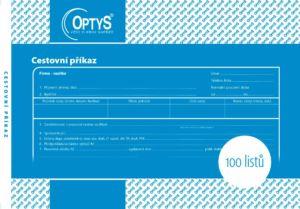 Cestovní příkaz A5, 100 listů 1051