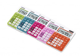 Kalkulačka CASIO stolní 20NC zelená světlá
