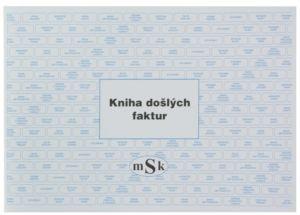 Kniha došlých faktur, MSK 152