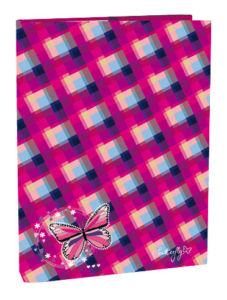 Box A4 s klopou Butterfly