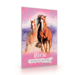 Desky na abecedu, Karton P+P – Kůň