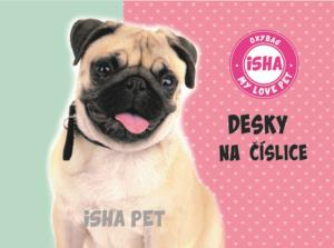 Desky na číslice, Karton P+P – ISHA, My love pet