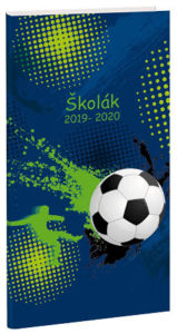 Diář Školák Football 3
