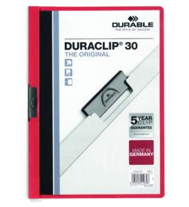 DURACLIP 30-červená