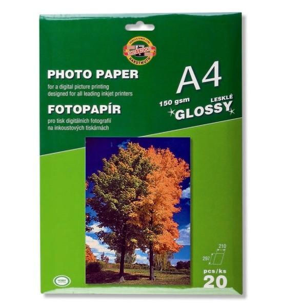 Fotopapír LESKLÝ 150g A4 9757/20