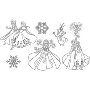 Kufřík Aladine Stampo Minos – Frozen – 6 ks