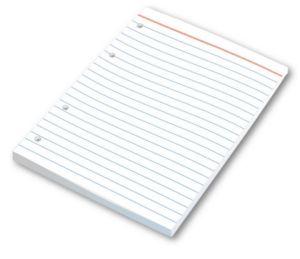 Náhradní náplň Notes do zápisníku A5 – linkovaná 100 listů