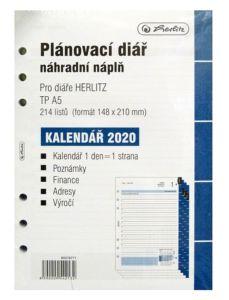 Náplň do diaře Herlitz A5 TP 2020 – denní