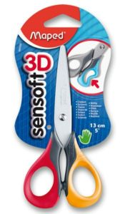 Nůžky Maped SenSoft 13 cm, blistr, mix barev