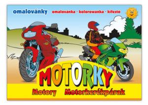Omalovánky MFP Motorky