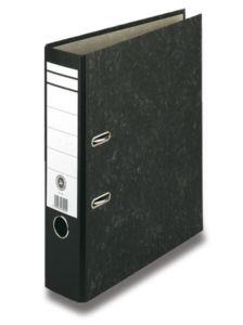 Pákový pořadač Basic, černý, hřbet 50 mm