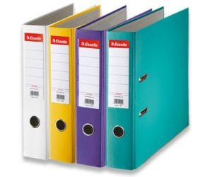 Pákový pořadač Esselte A4 PVC 75 mm – mix barev