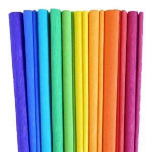 Papír krepový – výběr barev
