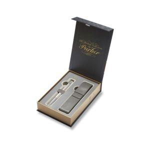 Parker Royal Urban Premium Pearl Metal CT – kuličková tužka, dárková kazeta s pouzdrem