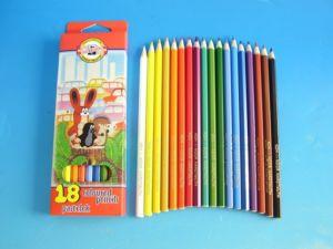 Pastelky 3653  KRTEK dlouhé – 18 barev