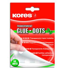 Permanentní lepící kolečka Kores – Glue Dots 64 ks