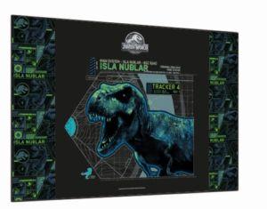 Podložka na stůl Karton P+P  60 x 40cm – Jurassic World