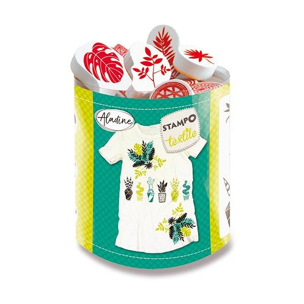 Razítka Aladine Stampo Textile – Rostliny