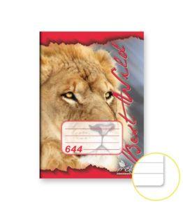 Sešit 644  Notes A6 – linkovaný 40 listů