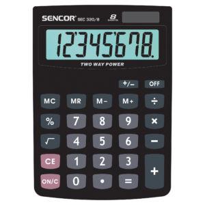 Stolní kalkulačka Sencor SEC 320/8