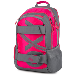 Studentský batoh OXY Sport NEON LINE PINK, Karton P+P