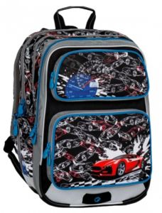 Školní batoh  pro prvňáčky Bagmaster klučičí GALAXY 7D
