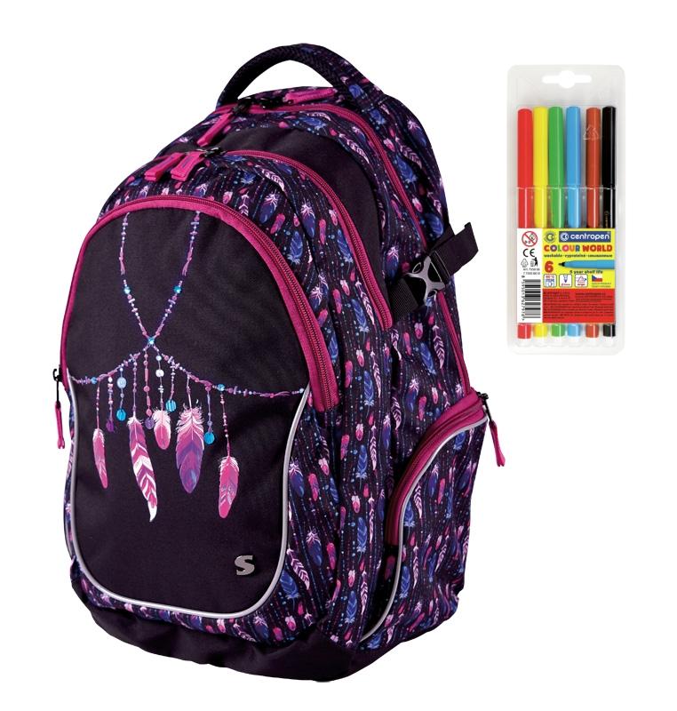Školní batoh pro holky Stil Indian Summer