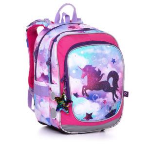 Školní batoh pro holky, Topgal, ENDY 20002 G – Jednorožec