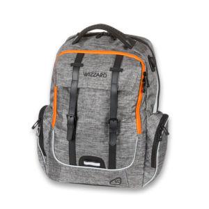 Školní batoh pro kluky Walker Campus  Academy Wizzard Grey Melange