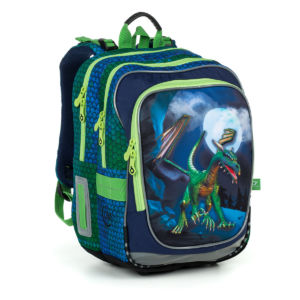 Školní batoh pro kluky, Topgal, ENDY 1903 B – Drak