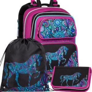 Školní batoh pro prvňáčky Bagmaster Gen 20 A – 3 dílný set