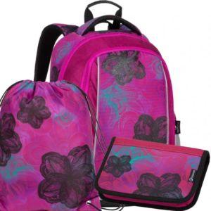 Školní batoh pro prvňáčky Bagmaster MARK 20 A- 3 dílný set
