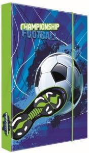 Školní box na sešity A4 Karton P+P – fotbal