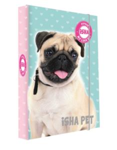 Školní box na sešity A4 Karton P+P – ISHA – My love Pet