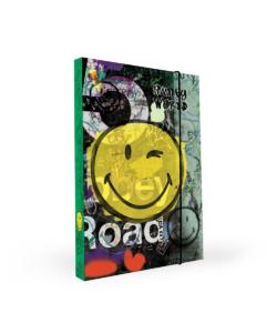 Školní box na sešity A4 Karton P+P – Smiley