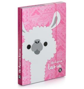 Školní box na sešity A5 Karton P+P – Lama