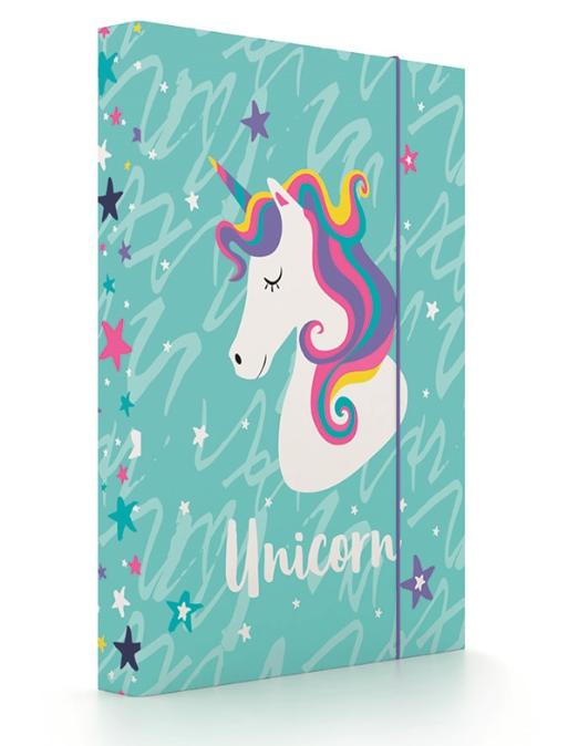 Školní box na sešity A5 Karton P+P – Unicorn iconic