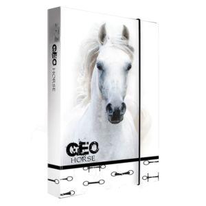 Školní box na sešity jumbo A5 Karton P+P – Geo wild kůň