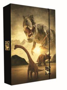 Školní box na sešity jumbo A5 Karton P+P – T- rex