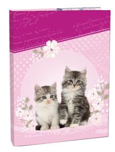 Školní box na sešity Stil A4 Kitten