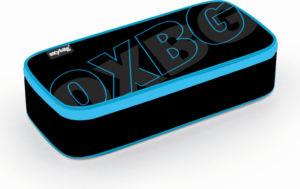 Školní pouzdro (etue) na tužky s klopou Karton P+P komfort – Oxy Black line blue