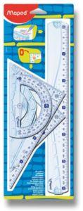 Školní sada pravítek Maped Geometric Maxi – 4dílná sada